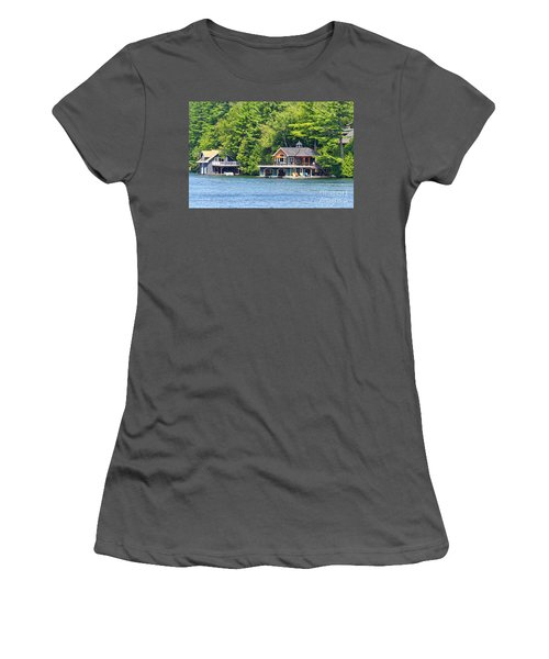 Two Luxury Boathouses Women's T-Shirt (Athletic Fit)