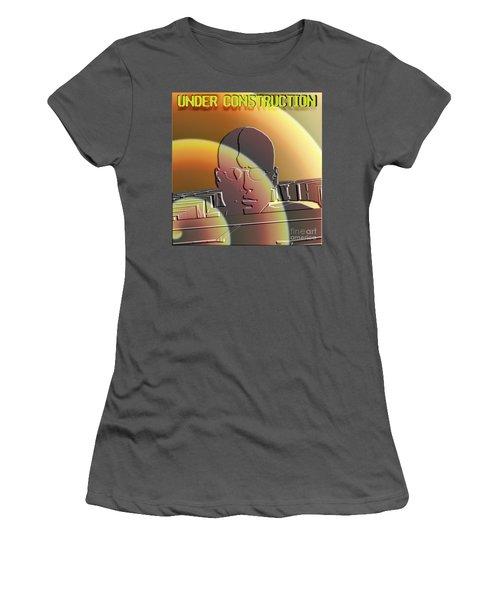 Under Construction Women's T-Shirt (Athletic Fit)