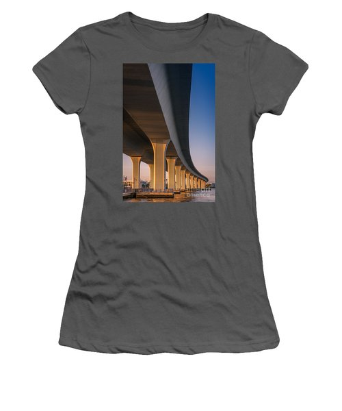 Under The Bridge Women's T-Shirt (Athletic Fit)