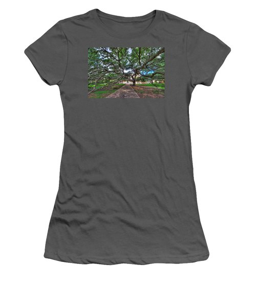 Under The Century Tree Women's T-Shirt (Athletic Fit)