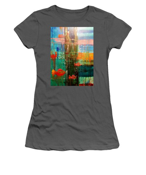 Under The Dock Women's T-Shirt (Athletic Fit)