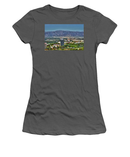 Universal City Warner Bros Studios Clear Day Women's T-Shirt (Athletic Fit)