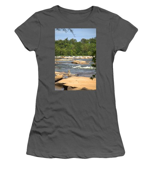 Unnatural Rock Formation Women's T-Shirt (Athletic Fit)