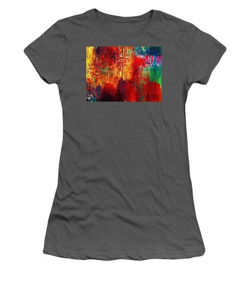 Untamed Colors  Women's T-Shirt (Athletic Fit)