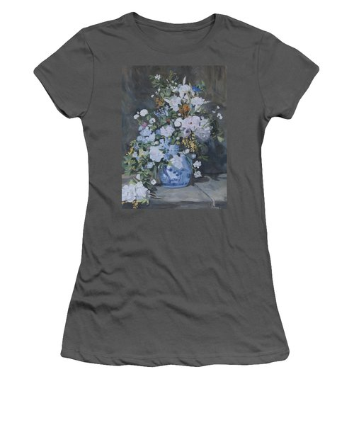 Vase Of Flowers - Reproduction Women's T-Shirt (Athletic Fit)
