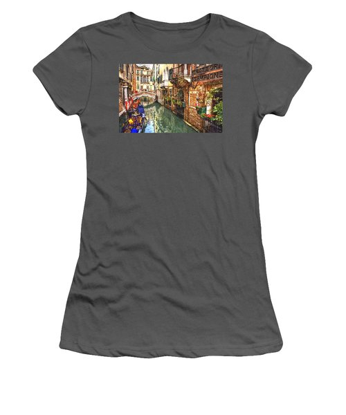 Venice Canal Serenity Women's T-Shirt (Athletic Fit)