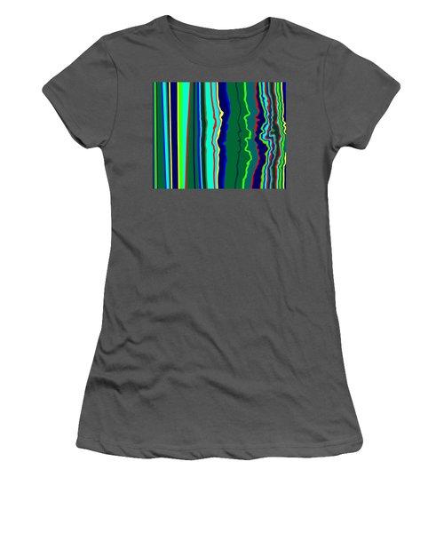 Vibrato Stripes  C2014  Women's T-Shirt (Athletic Fit)