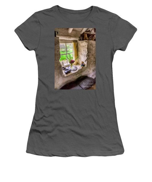 Victorian Window Women's T-Shirt (Athletic Fit)
