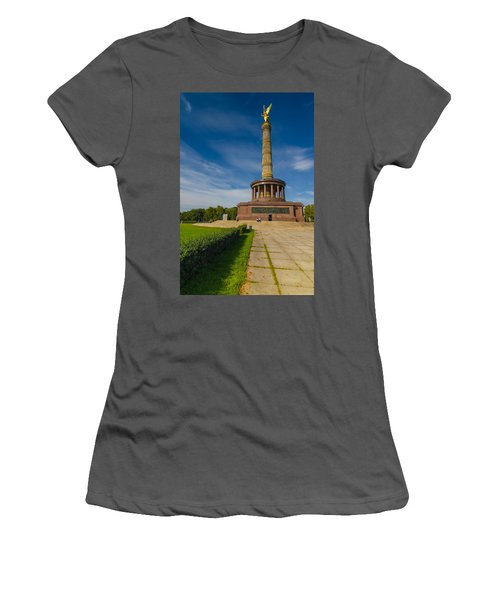 Victory Column Women's T-Shirt (Athletic Fit)