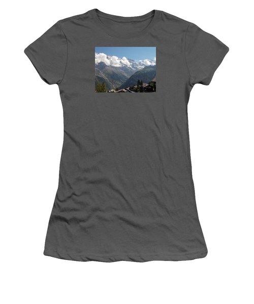 View From Murren Women's T-Shirt (Athletic Fit)