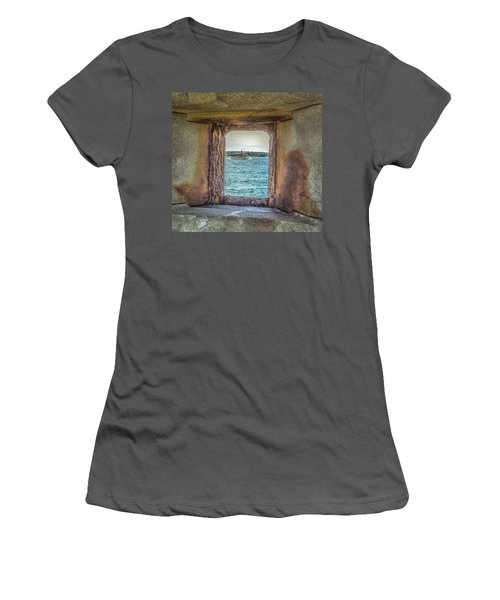 View From The Fort Women's T-Shirt (Athletic Fit)
