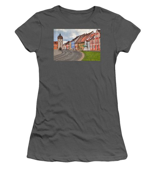 Vilseck Marktplatz Women's T-Shirt (Athletic Fit)