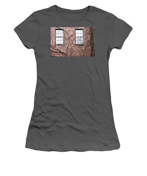 Vines And Brick Women's T-Shirt (Athletic Fit)