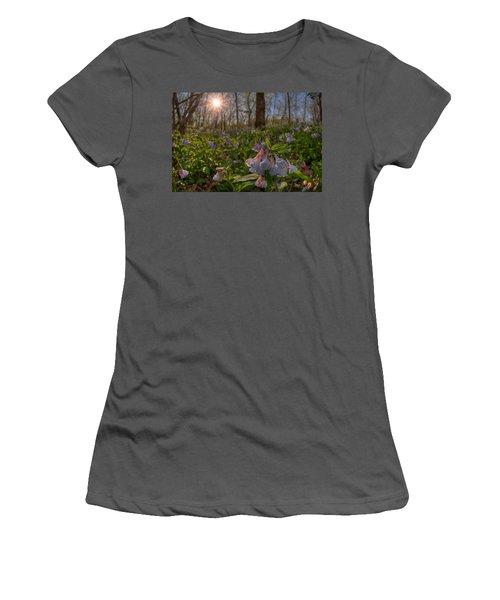 Virgina Bluebells Women's T-Shirt (Athletic Fit)