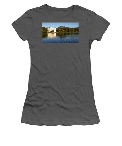 Von Trapp's Mansion Women's T-Shirt (Junior Cut) by Silvia Bruno