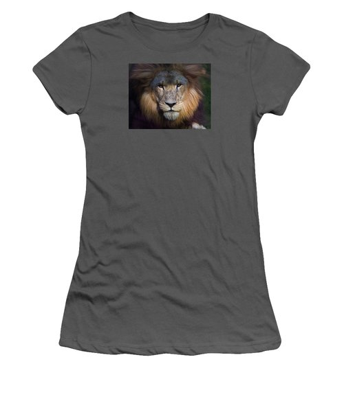 Waiting In The Shadows Women's T-Shirt (Athletic Fit)