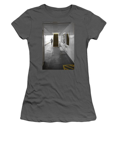 Women's T-Shirt (Junior Cut) featuring the photograph Walk This Way by Marilyn Wilson
