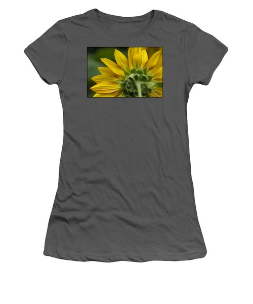 Watching The Sun Women's T-Shirt (Athletic Fit)