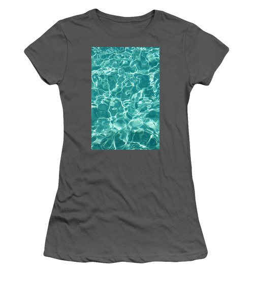 Water Meditation I. Five Elements. Healing With Feng Shui And Color Therapy In Interior Design Women's T-Shirt (Athletic Fit)