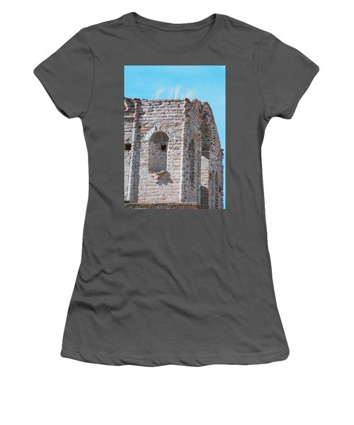 Women's T-Shirt (Junior Cut) featuring the photograph Waving To The Sky by Kerri Mortenson