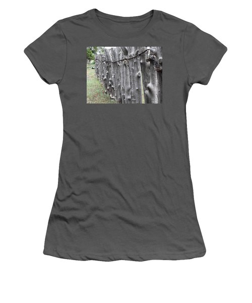Women's T-Shirt (Junior Cut) featuring the photograph Weathered by Natalie Ortiz
