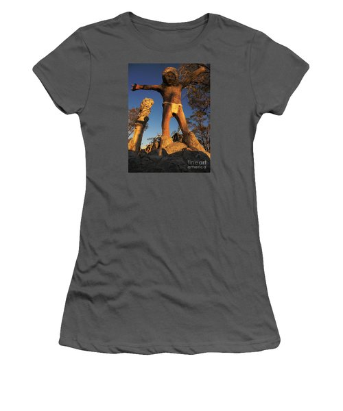 Welcome Women's T-Shirt (Junior Cut) by Janice Westerberg