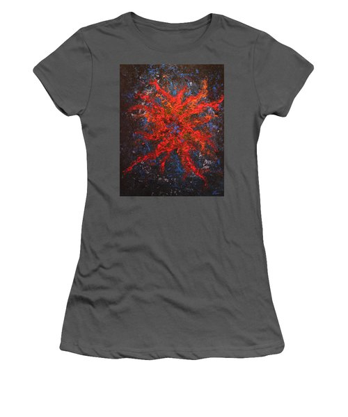 What Lies Below Women's T-Shirt (Athletic Fit)