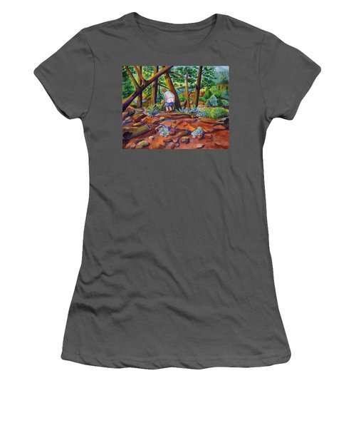 When Nature Calls Women's T-Shirt (Athletic Fit)