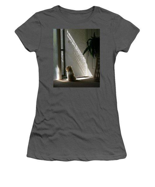 Where's Dad Women's T-Shirt (Junior Cut) by Rosalie Scanlon
