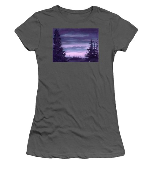 Whispering Pines Women's T-Shirt (Athletic Fit)
