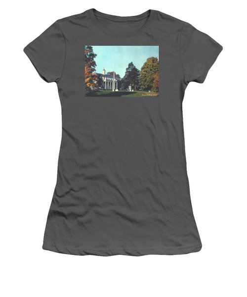 Whittle Hall Women's T-Shirt (Junior Cut) by Bruce Nutting