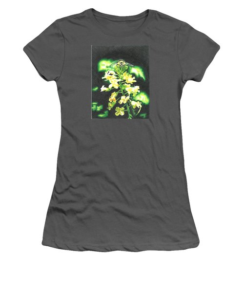 Wild Flower Women's T-Shirt (Junior Cut) by Troy Levesque