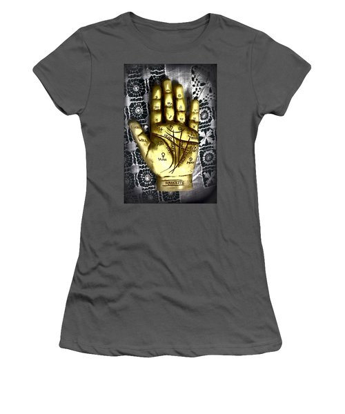 Winning Hand Women's T-Shirt (Athletic Fit)