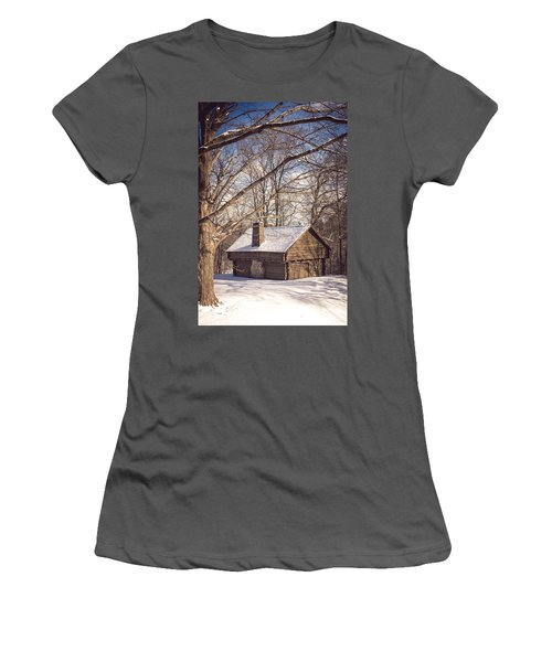 Winter Retreat Women's T-Shirt (Athletic Fit)