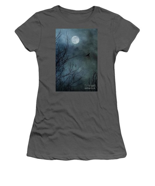 Winter's Silence Women's T-Shirt (Junior Cut) by Trish Mistric