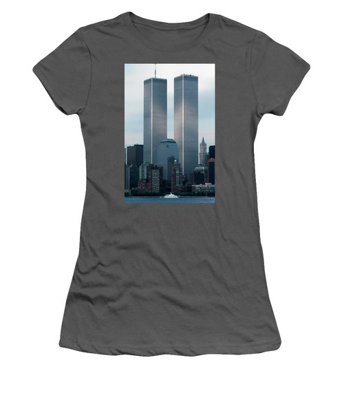 World Trade Center Women's T-Shirt (Athletic Fit)