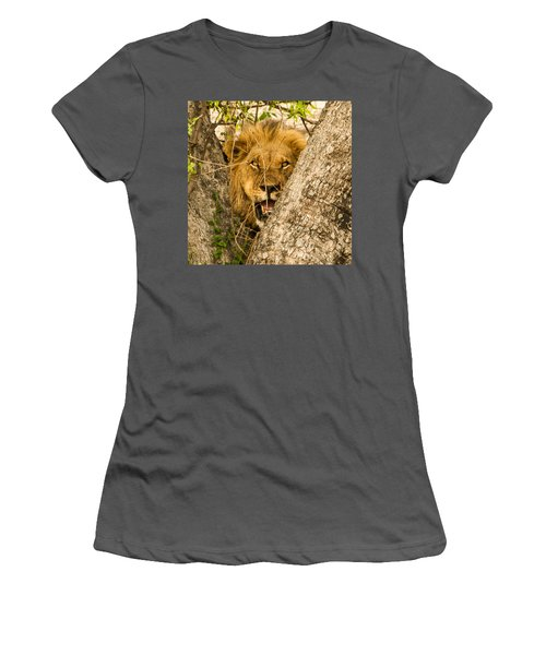 You Can't See Me Women's T-Shirt (Athletic Fit)