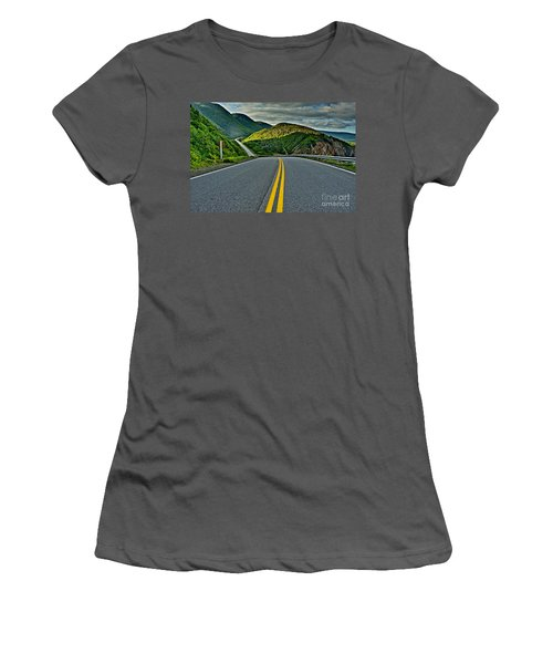 Cabot Trail Women's T-Shirt (Athletic Fit)
