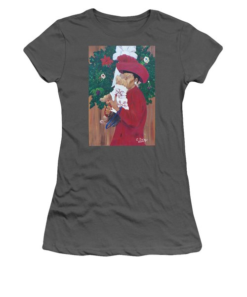 Christmas Lioness Women's T-Shirt (Athletic Fit)