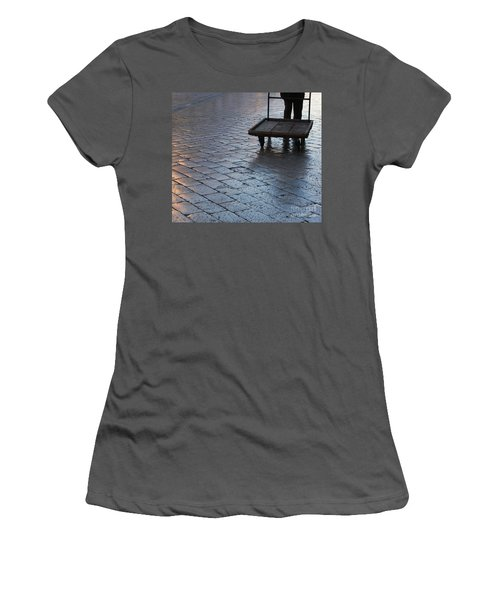 Women's T-Shirt (Junior Cut) featuring the photograph Colors Of Light by Andy Prendy