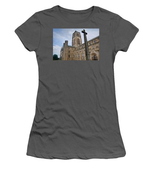 Durham Cathedral Women's T-Shirt (Athletic Fit)