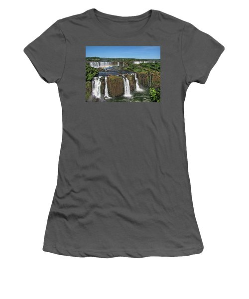 Iguazu Falls Women's T-Shirt (Athletic Fit)