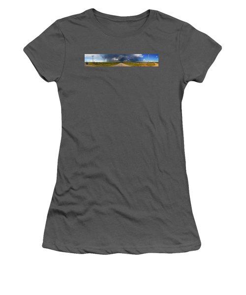 3x3 Women's T-Shirt (Junior Cut) by Brian Duram