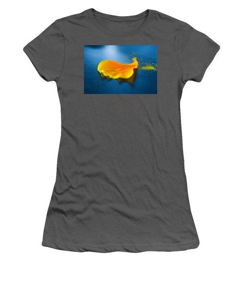 A Petal Falls Women's T-Shirt (Athletic Fit)