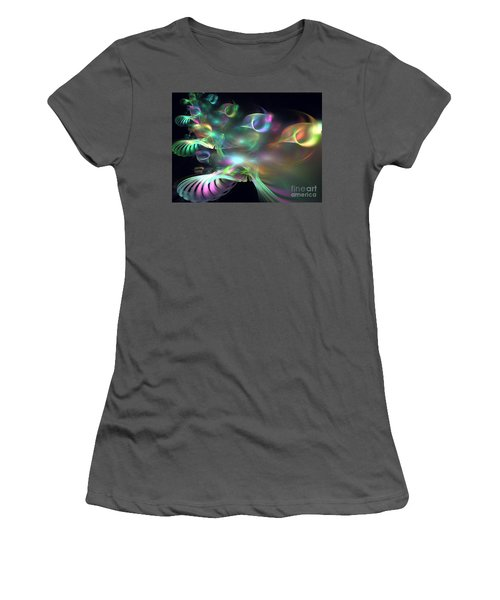 Alien Shrub Women's T-Shirt (Athletic Fit)