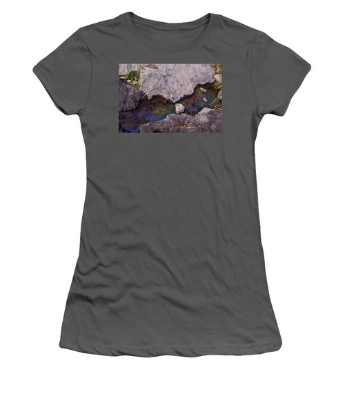 Another World V Women's T-Shirt (Athletic Fit)