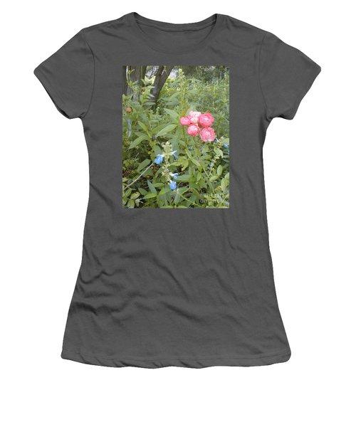 Antique Rose Women's T-Shirt (Athletic Fit)