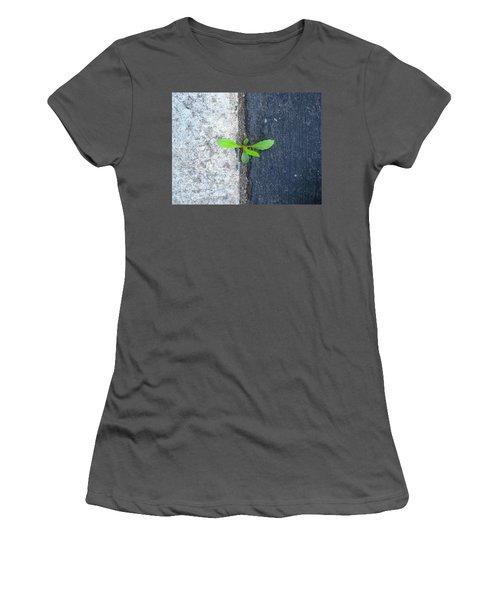 Grows Here Women's T-Shirt (Junior Cut) by John King