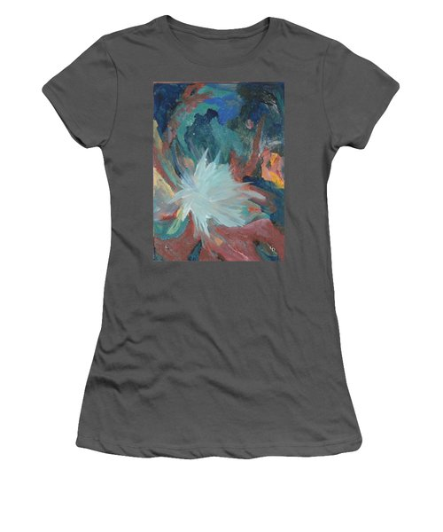 Blooming Star Women's T-Shirt (Athletic Fit)