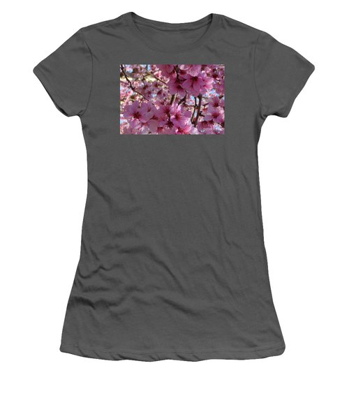 Women's T-Shirt (Junior Cut) featuring the photograph Blossoms by Lydia Holly